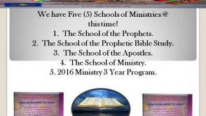 JDI Ministry School of Ministry