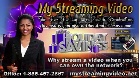 New 2017 MyStreamingVideoLive Promo 16 X Mass