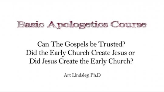 Basic Apologetics Course  Set 1 Reasons for Faith  Lecture 3