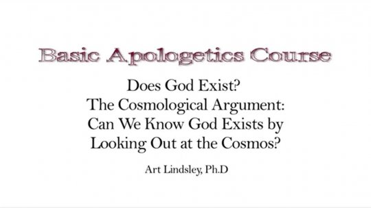 Basic Apologetics Course  Set 1 Reasons for Faith  Lecture 1