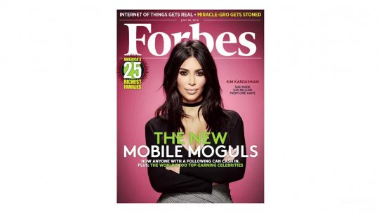 Kim Kardashian West Is Officially A Billionaire Forbes