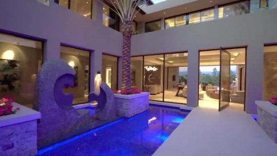 This $12,950,000 stunning home in La Quinta has many large open entertaining spaces
