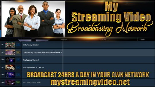 Bishop Lloyd T Lockett owner of My Streaming Video Live. He is Talks about Supporting Black Owned Businesses